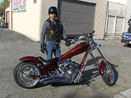 CHOPPER NEW COLORS AND FLAMES