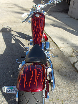 CHOPPER NEW COLORS AND FLAMES - image #2
